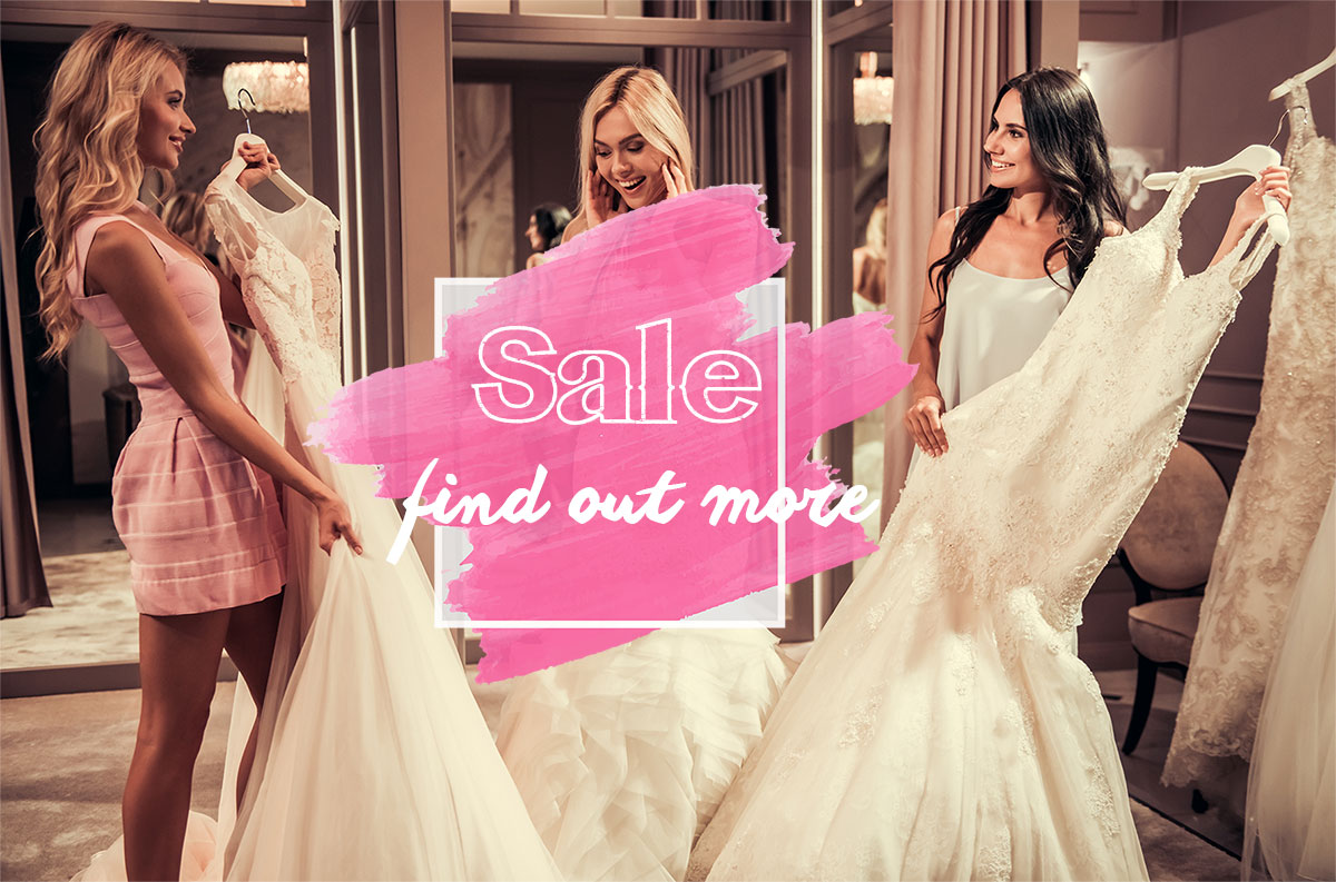 Wedding Dress – Sale Monday 15th-Saturday 19th January