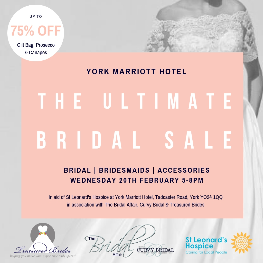 York Marriott Hotel – Bridal Sale